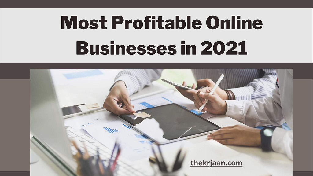 most profitable business online