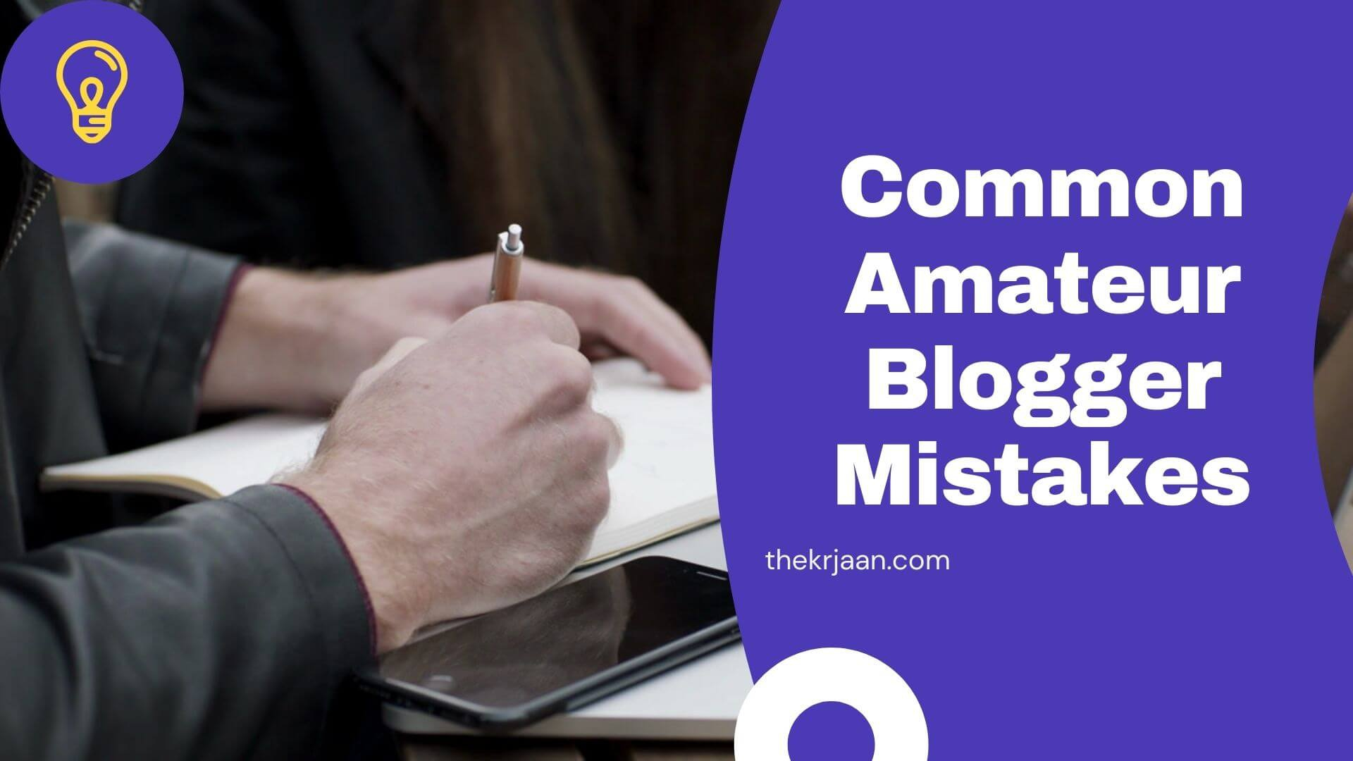 Common Amateur Blogger Mistakes Stop These Mistakes Right Now