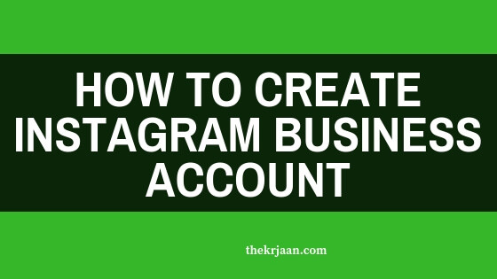 #Instagram | How To Create Instagram Business Account