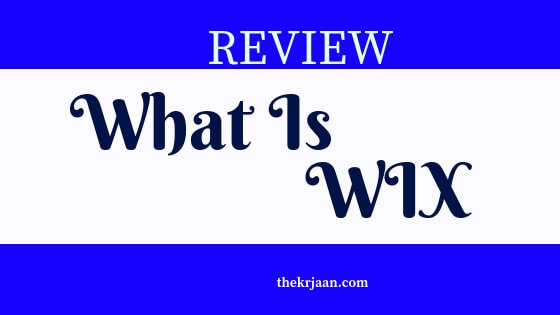 Review | What Is WIX | All Words About WIX